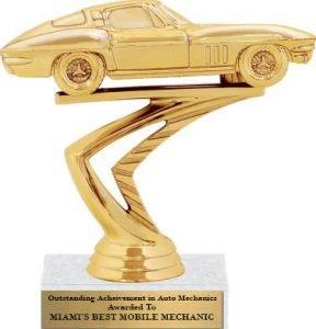 Miami Best Mechanic Award